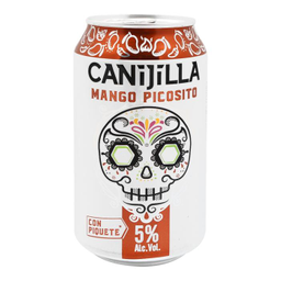Bebida Alcohólica Preparada Canijilla Mango Picosito 355 mL