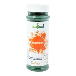 Alimento En Polvo Eco Food Espirulina 75 g