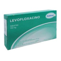 Levofloxacino Medimart 750 Mg 5 Tabletas