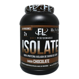 Suplemento Alimencticio Fl 24 Isolate Sabor Chocolate 998 g