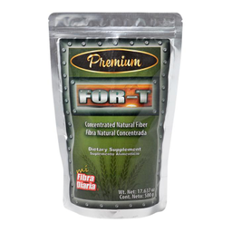 Suplemento Alimenticio For-T Fibra Natural Concentrada 500 g