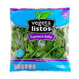 Vegeta Listos espinaca baby