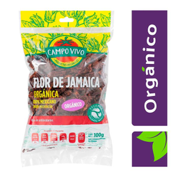 Flor De Jamaica Orgánica Campo Vivo 100 g