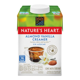 Sustituto De Crema Para Café Nature'S Heart Almendra Y Vainilla