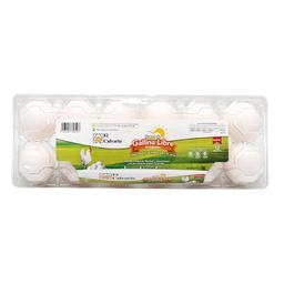 Huevo Blanco El Calvario De Gallina Libre De Jaula 12 U