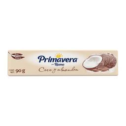 Margarina Primavera Coco Y Almendra En Barra 90 g
