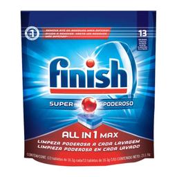 Detergente Finish Powerball En Tabletas Para Lavavajillas