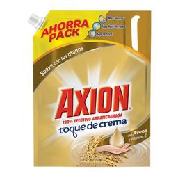 Lavatrastes Líquido Axion Toque De Crema 1.5 L