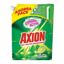 Lavaplatos Axion Limón 1.5 L