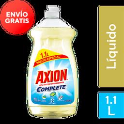 Lavatrastes Líquido Axion Complete Tricloro 1.1 L
