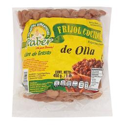 Frijol Pinto Faber Entero Cocido De Olla 450 g