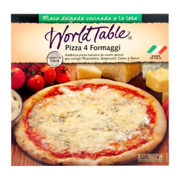 Pizza World Table 4 Quesos 320 g