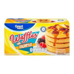 Waffles Congelados Great Value Estilo Caseros 350 g