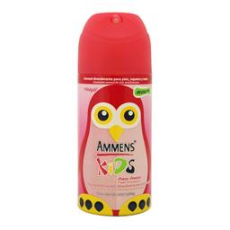 Desodorante Para Pies Ammens Kids En Aerosol Fresa Fresca 120 mL