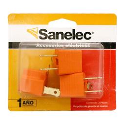 Adaptador Sanelec De Plástico Convertidor A Tierra