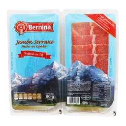 Jamón Serrano Bernina Reducido En Sal 80 g
