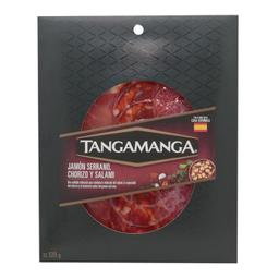 Selección Tangamanga De Jamón Serrano Chorizo Y Salami 120 g