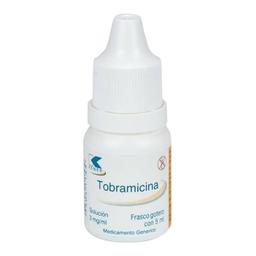 Tobramicina Solución 5 mL (3 mg/mL)