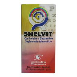 Suplemento Alimenticio Snelvit 0.87 g x 90 Cápsulas