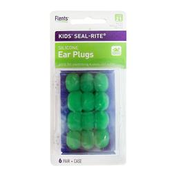 Tapones Para Oídos Flents Kids Seal Rite 6 Pares