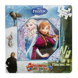 Libro De Rompecabezas Disney Frozen U