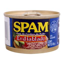 Paté De Cerdo y Pollo Spam endiablado 85 g
