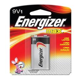 Pila energizer Max 9V 1 U