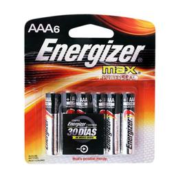 Pilas energizer Max Aaa 6 U