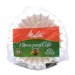 Filtros Para Café Melitta Super Premium Tipo Cesta 100 U