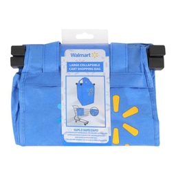 Bolsa Walmart Azul Para Carrito 1 U