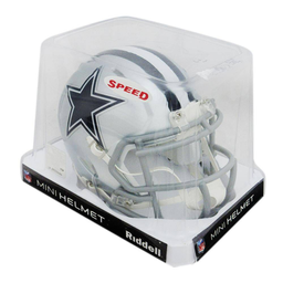Casco Riddell Nfl Speed Mini Dallas Cowboys 1 U