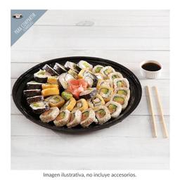 Charola De Sushi Mini Oke Mix Con 3 Rollos
