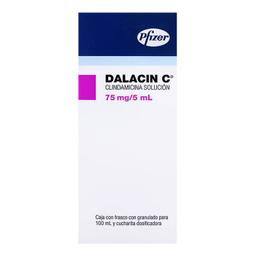 Dalacin C 75 Mg/5 mL Solución 100 mL