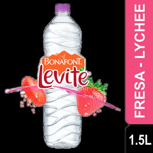 Agua Bonafont Levité Fresa Lychee 1.5 mL