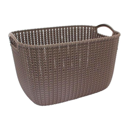 Caja Curver Knit Collection Café 19 Lts