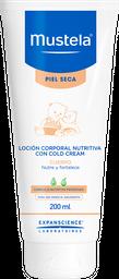 Mustela Loción Corporal Nutritiva Cold Cream  para Piel Seca