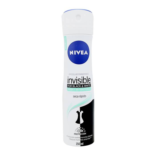 Nivea Antitranspirante Invisible Fresh + Antibacterial Spray