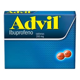 Advil 200 Mg 24 Tabletas