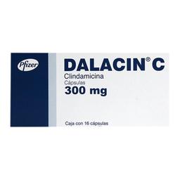 Dalacin C 300 Mg 16 Cápsulas
