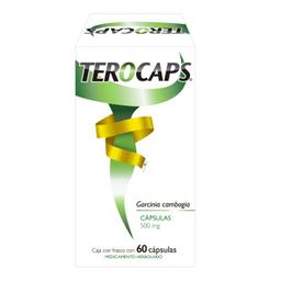Terocaps 500 Mg 60 Cápsulas