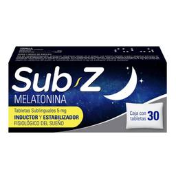 Sub Z 5 Mg 30 Tabletas Sublinguales
