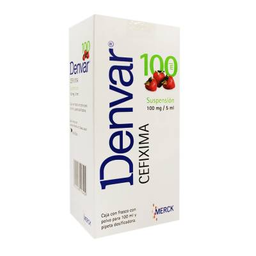 Denvar 100 Mg /5mL Suspensión 100 mL