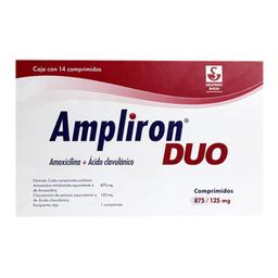 Ampliron 875/125 Mg 14 Comprimidos