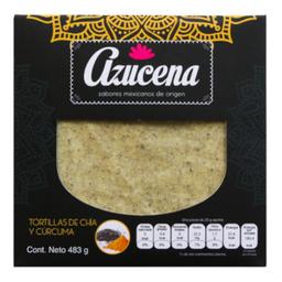 Tortilla Azucena De Chía y Cúrcuma 483 g
