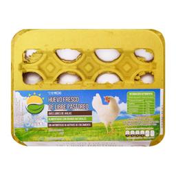 Huevo Nutri Campo Blanco Fresco De Libre Pastoreo 12 U