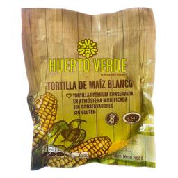 Tortilla Huerto Verde De Maíz Blanco 500 g