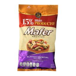 Mafer-Mafer Cacahuate Mafer Surtido Especial Salado