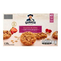 Quaker Galletas de Avena Con Frutos Rojos