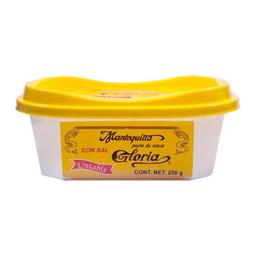 Mantequilla Gloria Con Sal Untable 250 g