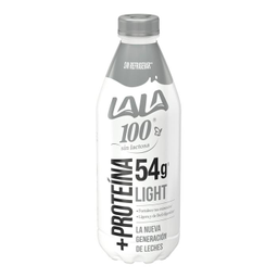 Leche Lala 100 Sin Lactosa Light +Proteína 1 L